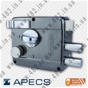 Накладной замок APECS 0556-C (BN-черный никель)