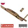 Врезной торцевой шпингалет Jania (Польша)