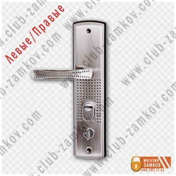 Дверная ручка с подсветкой на китайскую дверь