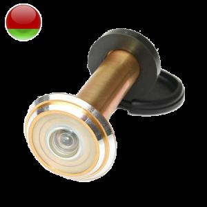 Глазок дверной широкоугольный ГДШ 10-200 с заслонкой (удлиненный)