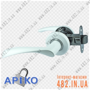 Ручка межкомнатная дверная Арико 114-5 (белая)