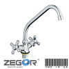 Смеситель на кухню Zegor  (T43-TZН-A725)